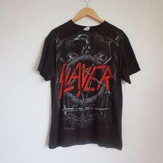 Black Slayer Tshirt 2009 World Painted Blood Band Metal Merch Merchandise Unisex Large Tee Top Shirt