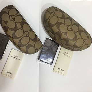 COACH Sunglass and Frame Cases