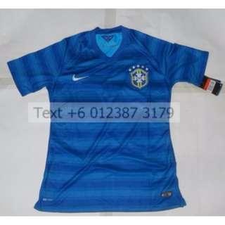 Cheap New Old Stock Brazil Away WC 2014 L P2P 54.5cm