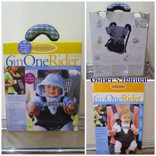 Infantino 6in1 Baby Carrier