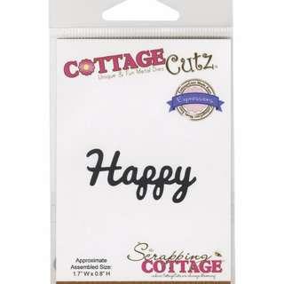 Brand New CottageCutz Happy Die