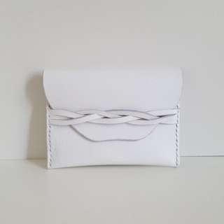 白色真皮八達通卡片套(Cardholder)
