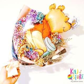 🚚 乾燥花氣球