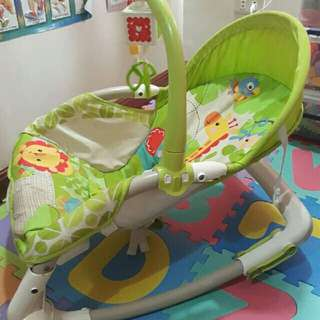 Portable rocker for newborn to.toddler