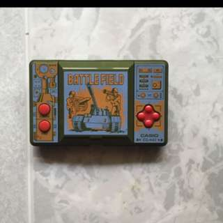 Casio battlefield game