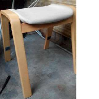 Wooden Frame Chair / bench