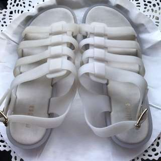 Authentic Melissa Sandals in Size 7