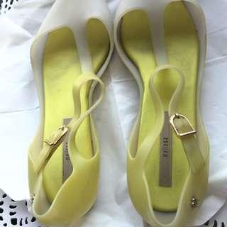 Authentic Melissa Flats Size 7