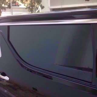 Not Happy With Your Alphard Built-in Sunshade? We Can Add-On Customized Curtain Shade For You