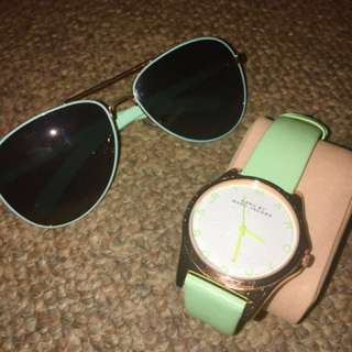 Marc jacobs watch and sunnies in hot sale!!!