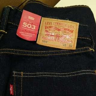 全新日版Levi's 503 牛仔褲