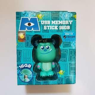 Monsters MoMo 16GB USB memory stick Disney Pixar 怪獸大 毛毛usb storage