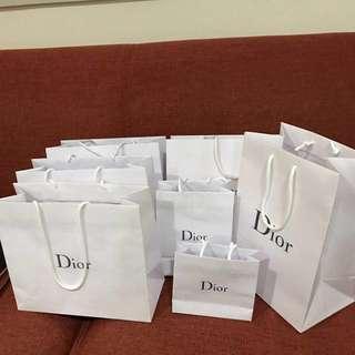 🚚 Dior迪奧購物袋7個(不含運)