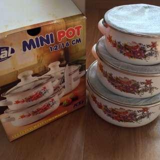 Mini Pot 12/16 cm Merk Ideal