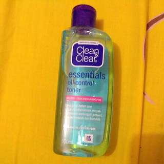 Clean And Clear Oil-control Toner