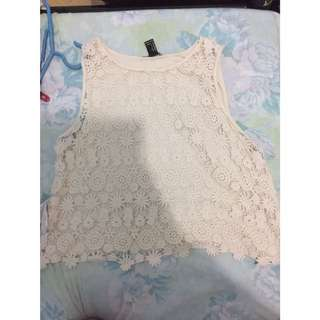 forever21 top lace