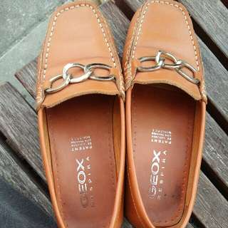 Geox 專櫃皮鞋