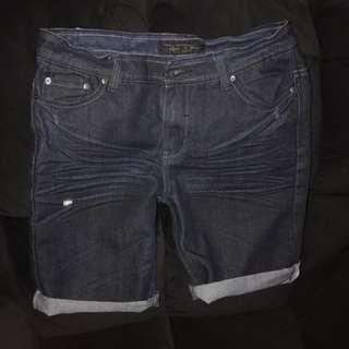 Dark Denim Shorts - Size 32 - ANY 5 ITEMS FOR $10