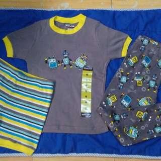 bnew 3pcs pajama set