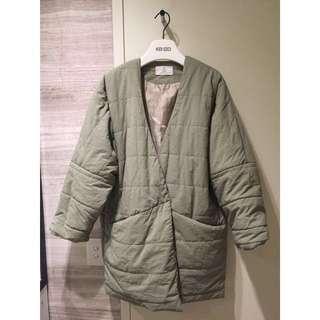 Light Large Warm Coat