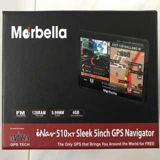 Marbella iNav 510xt sleek 5 inch gps navigator with Marbella Mr2 roadcorder for sale