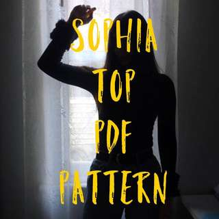 The Sophia Top PDF Pattern