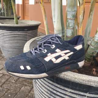 sepatu asics gel lyte orignal (zara pull and bear adidas nike)