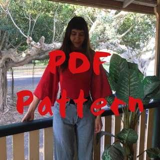 Bella Bodysuit PDF Pattern