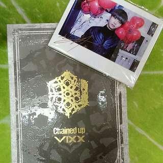 VIXX - Chained Up 專輯 寫真 拍立得