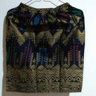 skirt - motif kain bali