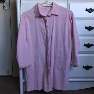 Baby Pink Oversized Shirt