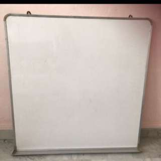 Magnetic Whiteboard white board with marker tray
