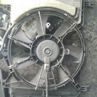 Toyota vios G radiator fan with motor