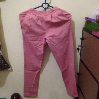 Celana pants pink