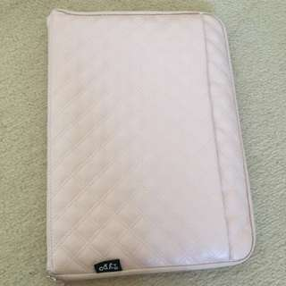 Baby Pink Typo Laptop Case