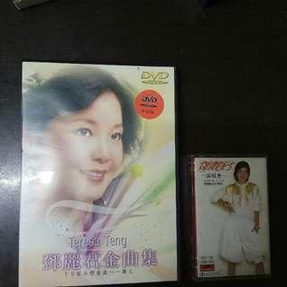 鄧麗君 錄音帶和 DVD 邓丽君录音带
