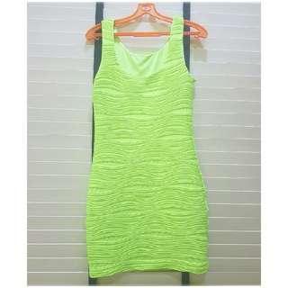 📮💚 Sexy Neon Bandage Dress