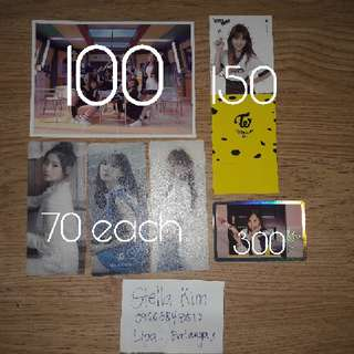 Twice Photocards FOR SALE!!!