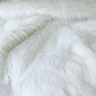 Best selling Faux Fur Fabric (White) 🐇🌼