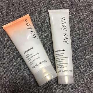 Satin hands cream and softener