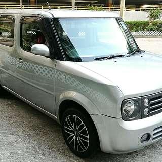日產 Nissan Cube Z11 7座 銀色 Sliver 1首 06/12 年 z12 K Car