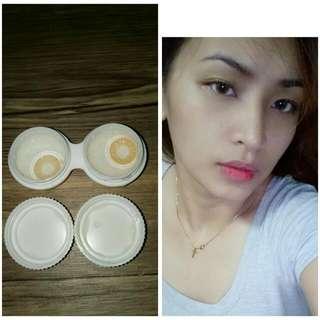 Eo Natural Brown Contct Lens..