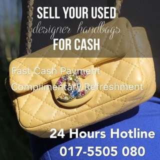 Sell Unwanted Designer Handbag