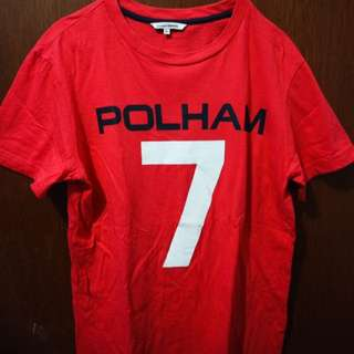 Polham red t-shirt