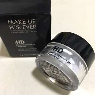BN Make Up For Ever HD High Definition Powder 1g Microfinish Powder