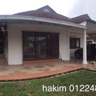 Rumah Banglow Lot Bangi
