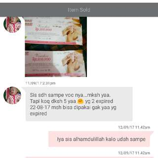 Testi Customer Yang Ga Make Offer, Im A Trusted Seller Yaaa 😍😘