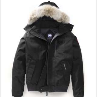 Brand new Canada goose mens borden bomber size large black