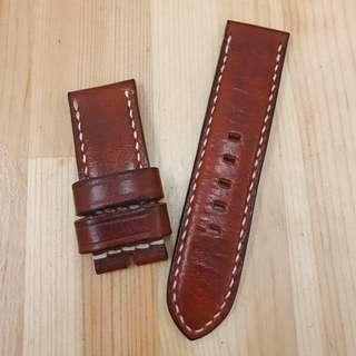 PANERAI 24MM Handmade Watch Strap 手工皮革錶帶