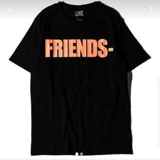 "VLONE ""friends"" tshirt"